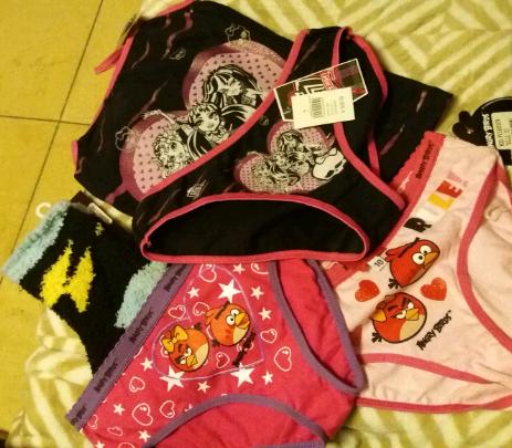 Soriana Glorieta San Luis Potosí: pantaletas para niña de $45 a $2.45 pesos