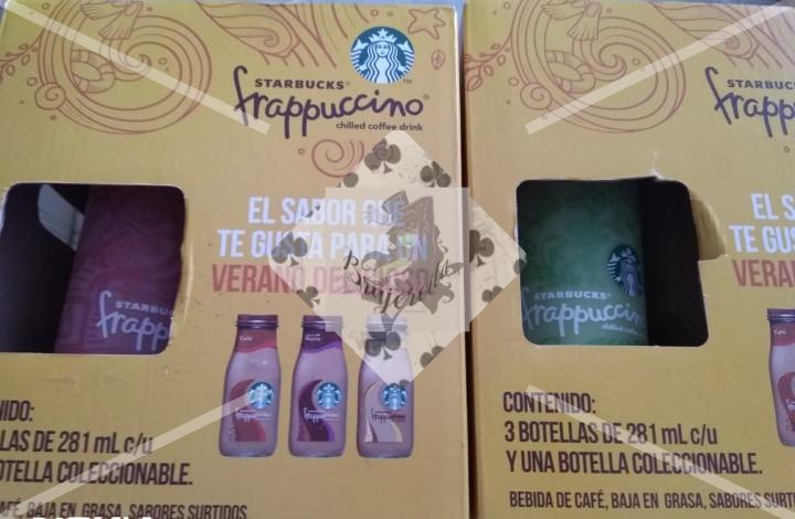 Walmart: Caja de 3 Frappuccino Starbucks con vaso o botella de regalo 26.01 (última liquidación)