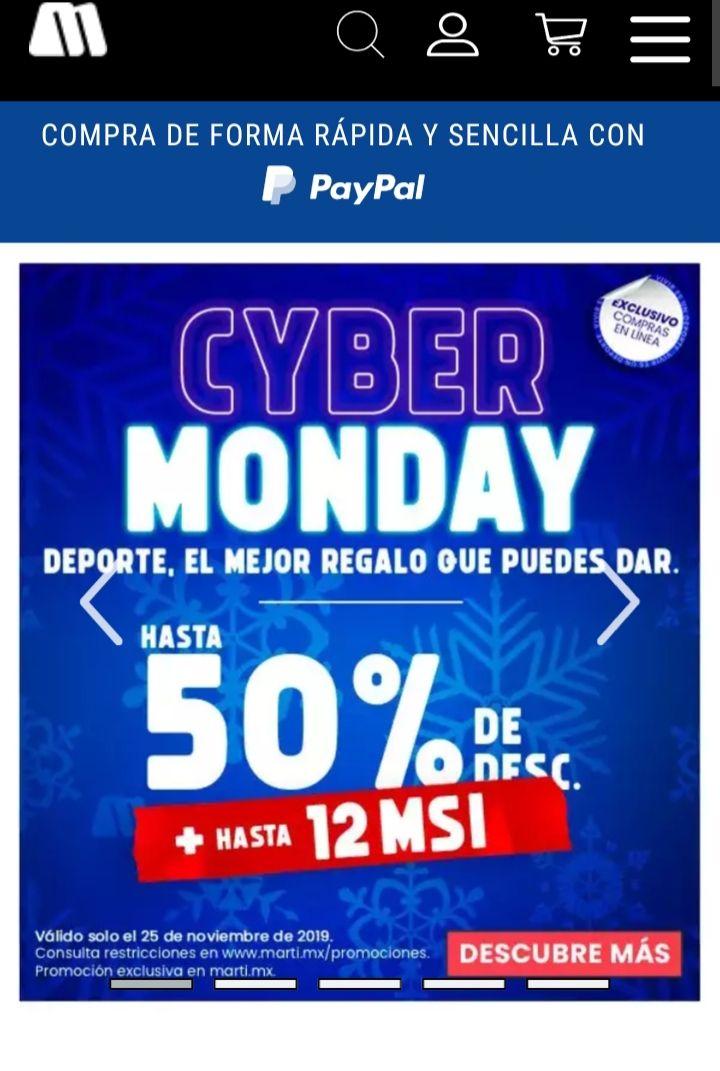 Marti En Linea: Cyber Monday