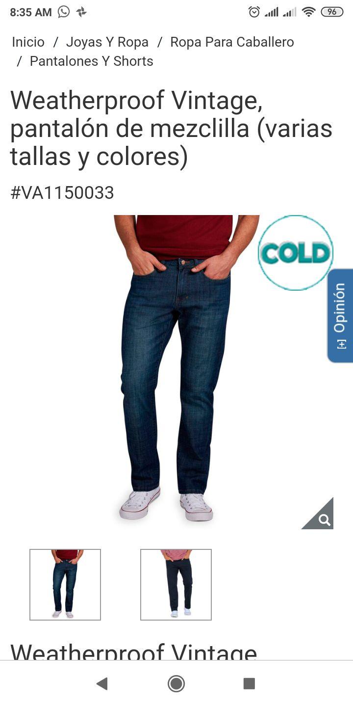 Costco: Weatherproof vintage pantalones de mezclilla en 199$ y mas