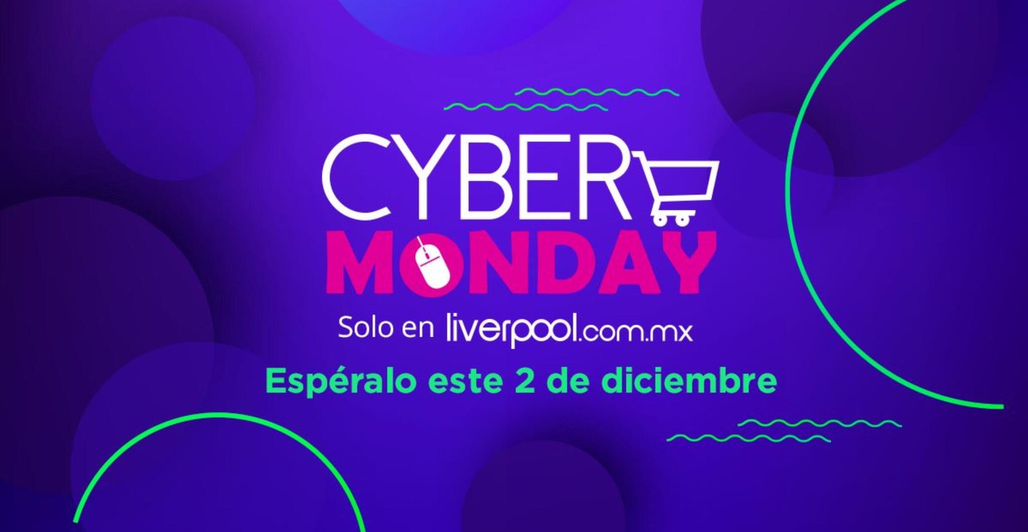 Liverpool: Cyber Monday el 02 de Diciembre