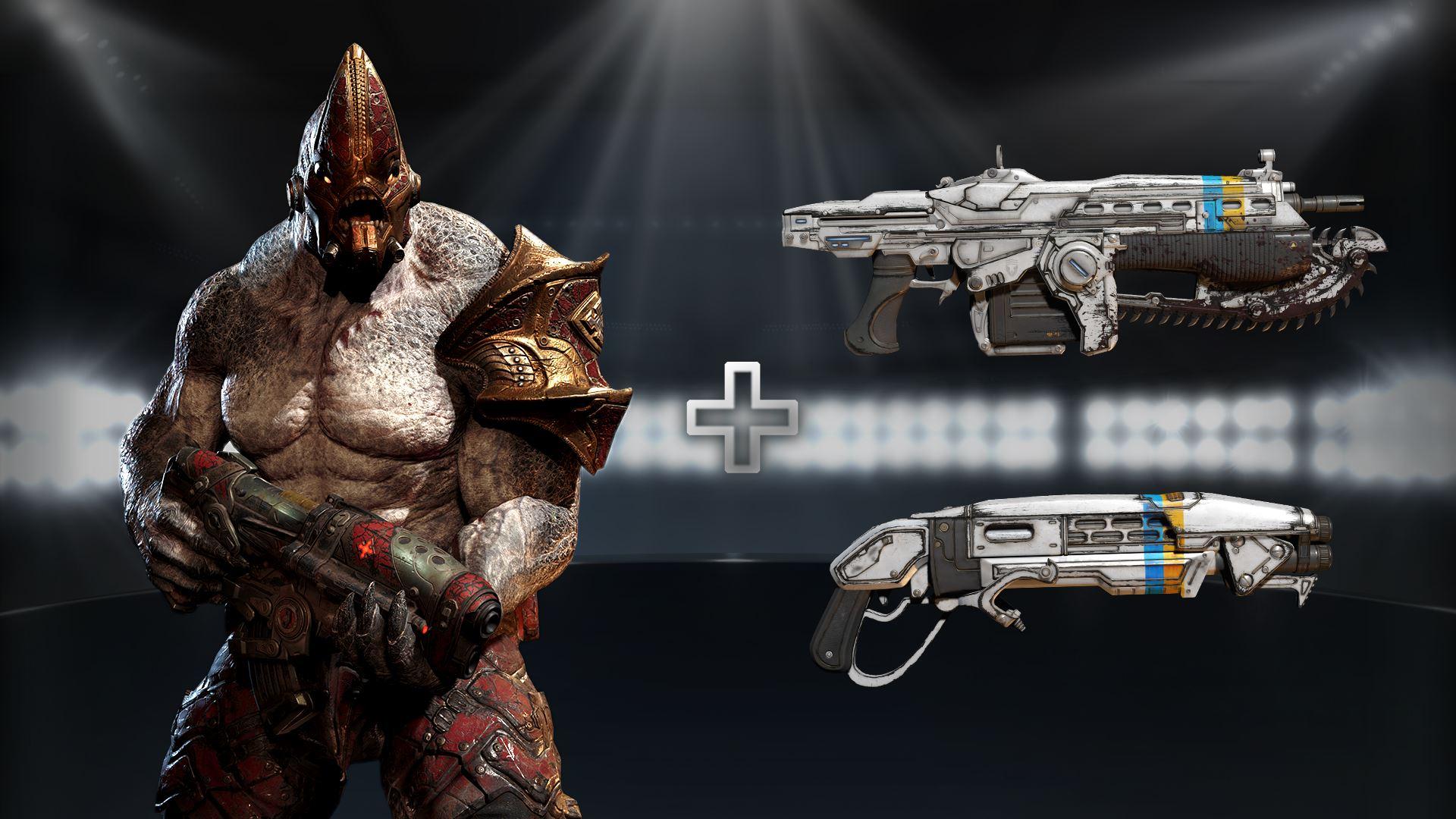 Xbox: Pack exclusivo de la 2.ª temporada de Gears eSports a $65