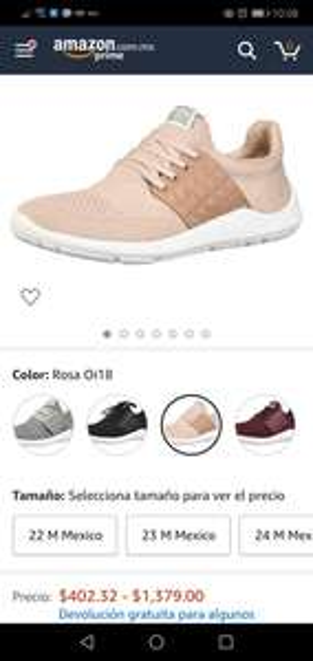 Amazon: Tenis Pepe Jeans para mujer varios colores