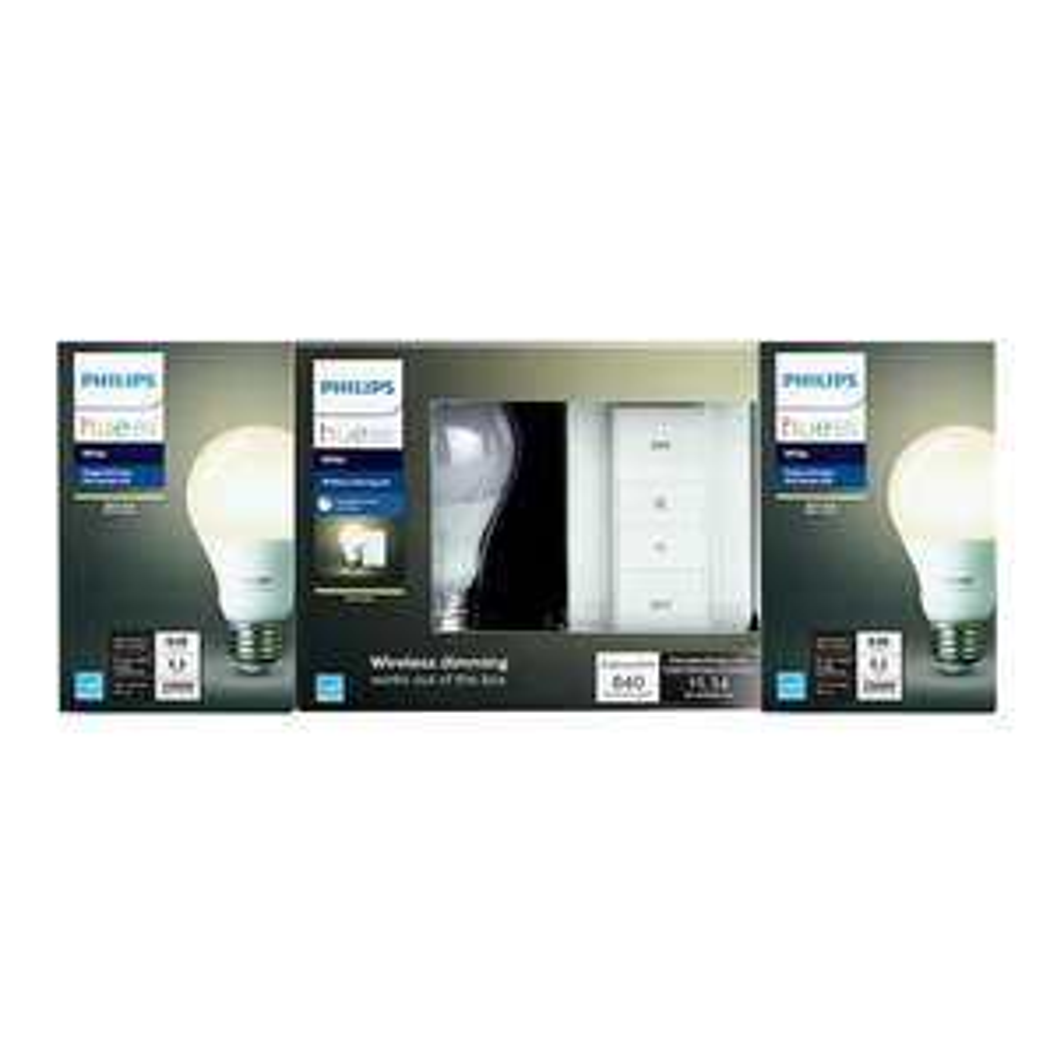 Walmart: Dimer Switch Philips Hue Blanco