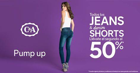 Promociones en jeans: 2x1 y medio en C&A y -20% en Suburbia