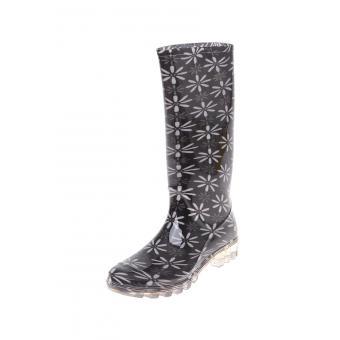 Linio: botas de lluvia  color negro modelo Storm ASIM200011