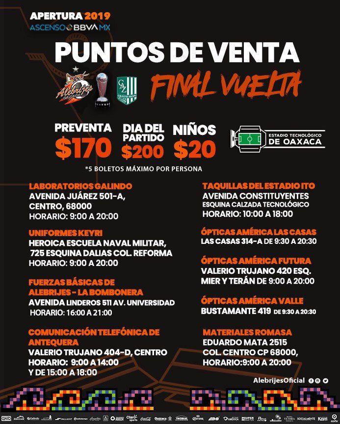 Final ascensomx Alebrijes VS Zacatepec