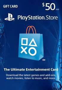 Amazon USA: Playstation Gift Card de $50 dólares