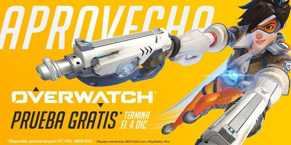 Overwatch Prueba Gratis