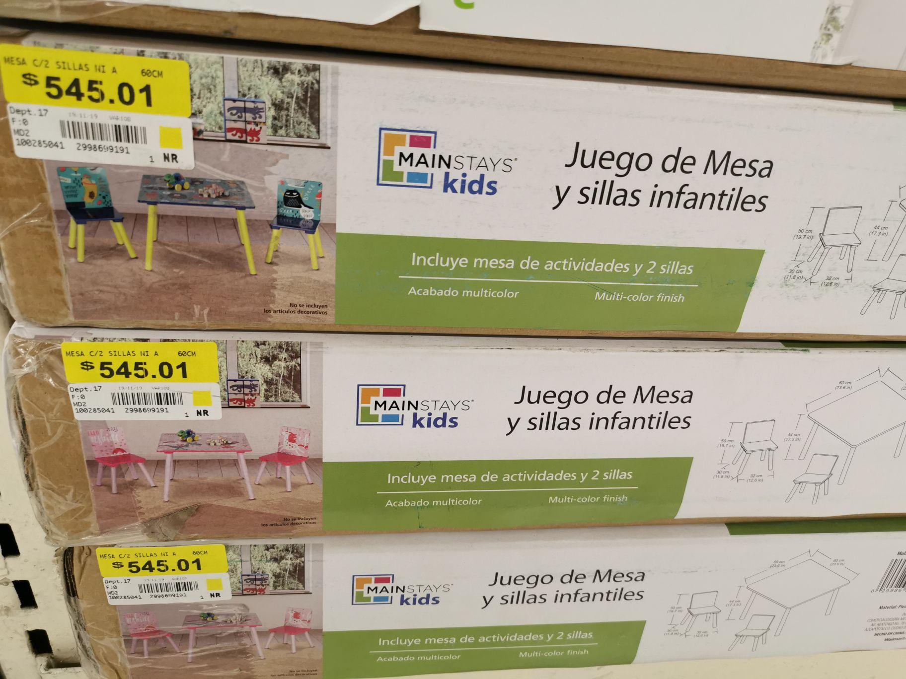 Walmart reforma, Saltillo: Juego de Mesa Mainstays