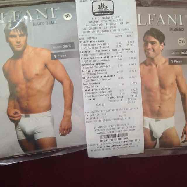 Chedraui: Bóxer y bikini para caballero a $1