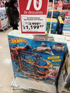 Woolworth: Pista de Hot wheels en liquidacion