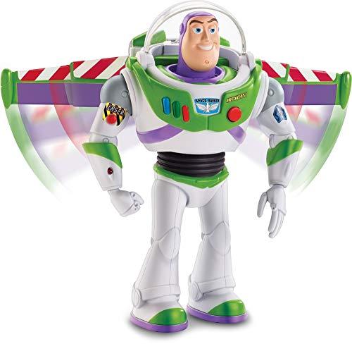 Amazon: Toy Story Disney Buzz Mov imientos Reales Toy Figure