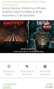 Groupon KnotFest 2x1