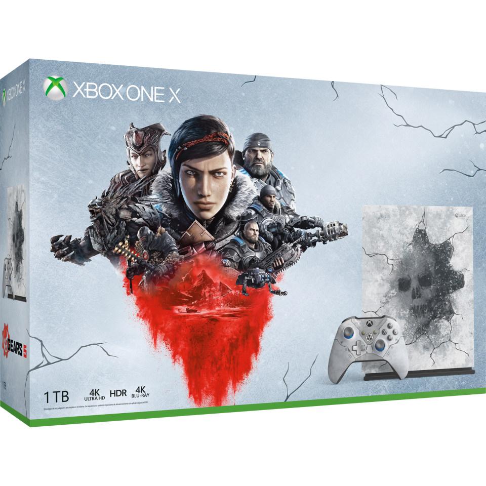 Walmart: Consola Xbox One X Edición Especial 1TB más Gears 5