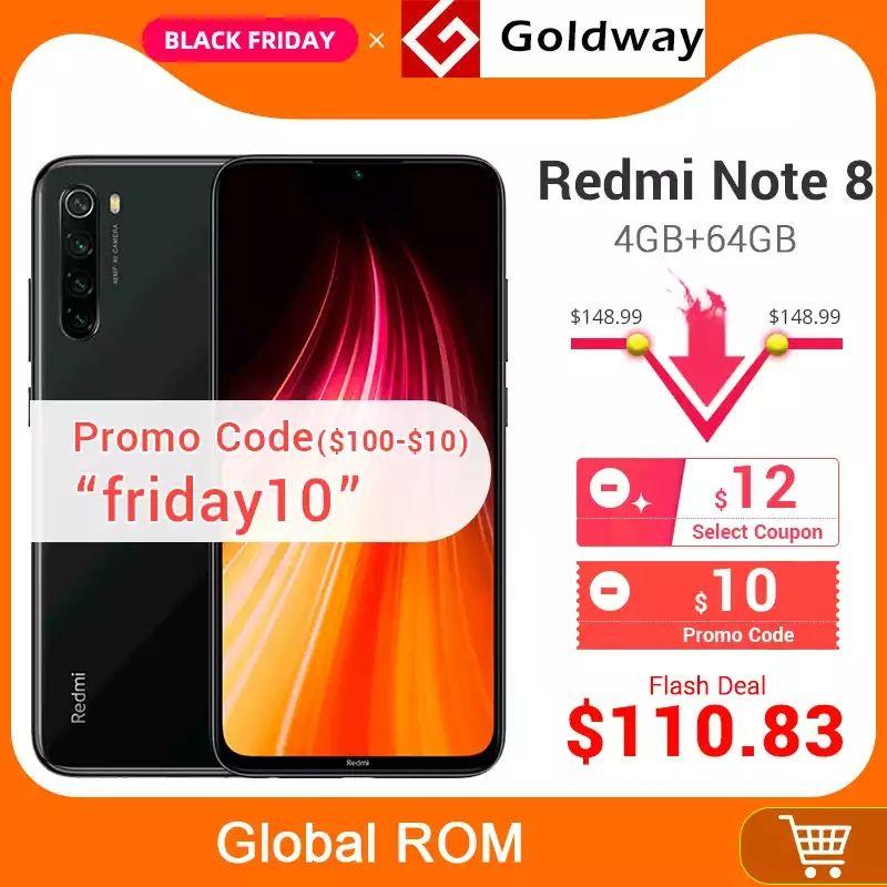 Redmi note 8 en Black Friday