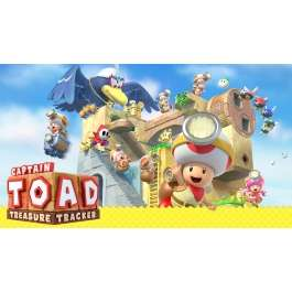 Nintendo eShop Chile: Captain Toad Treasure Tracker en $513.