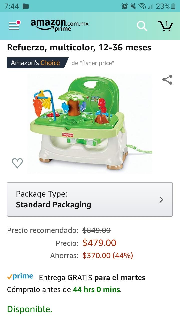 Amazon: Silla para bb fisher price