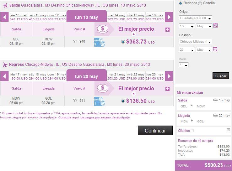 Volaris: rutas nacionales desde $689 y a USA desde $149 dólares y más