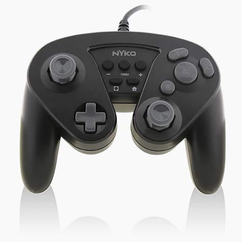 Amazon: Control Alámbrico tipo Retro Nytro Core (estilo Gamecube para PC o Switch)