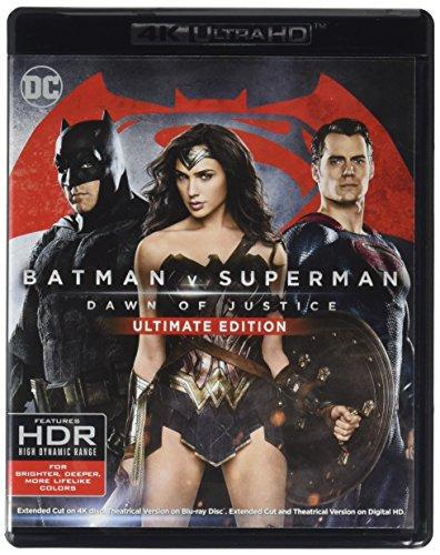Amazon | Batman v Superman: Dawn of Justice [4K Ultra HD + Blu-ray]