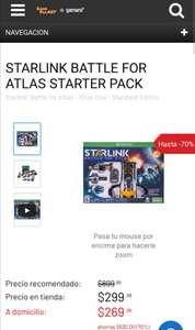 Game Planet: Starlink xbox one y ps4