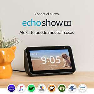 Amazon Mx: Echo show 5 (pagando con Amazon Recargable)