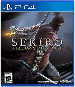 Amazon: Sekiro Shadows Die Twice para PS4