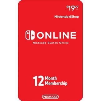 Suscripción Switch Online 12 meses $15 dólares (Black Friday Target, entrega por mail)