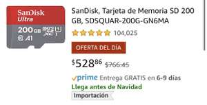 Amazon: SanDisk 200gb OFERTA DEL DÍA