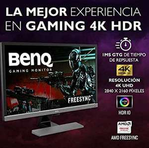 Amazon Monitor BenQ Gamer 28 pulgadas 4K HDR