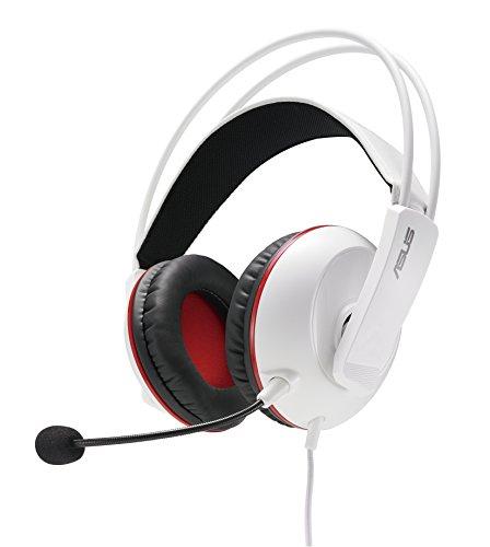 Amazon Asus Cerberus Arctic Gaming Headset Headphones, White
