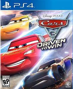 Amazon Cars 3: Driven to Win - PlayStation 4