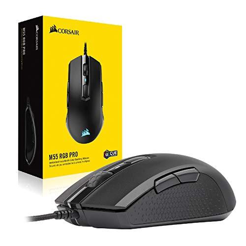 Amazon: Mouse ambidiestro Corsair M55