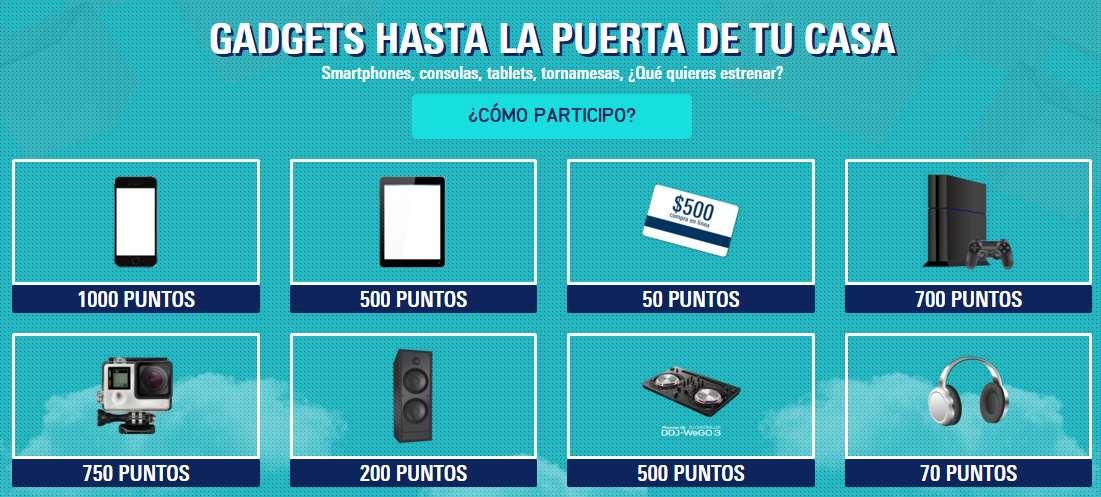 Promo Barcel: premios acumulando puntos comprando productos