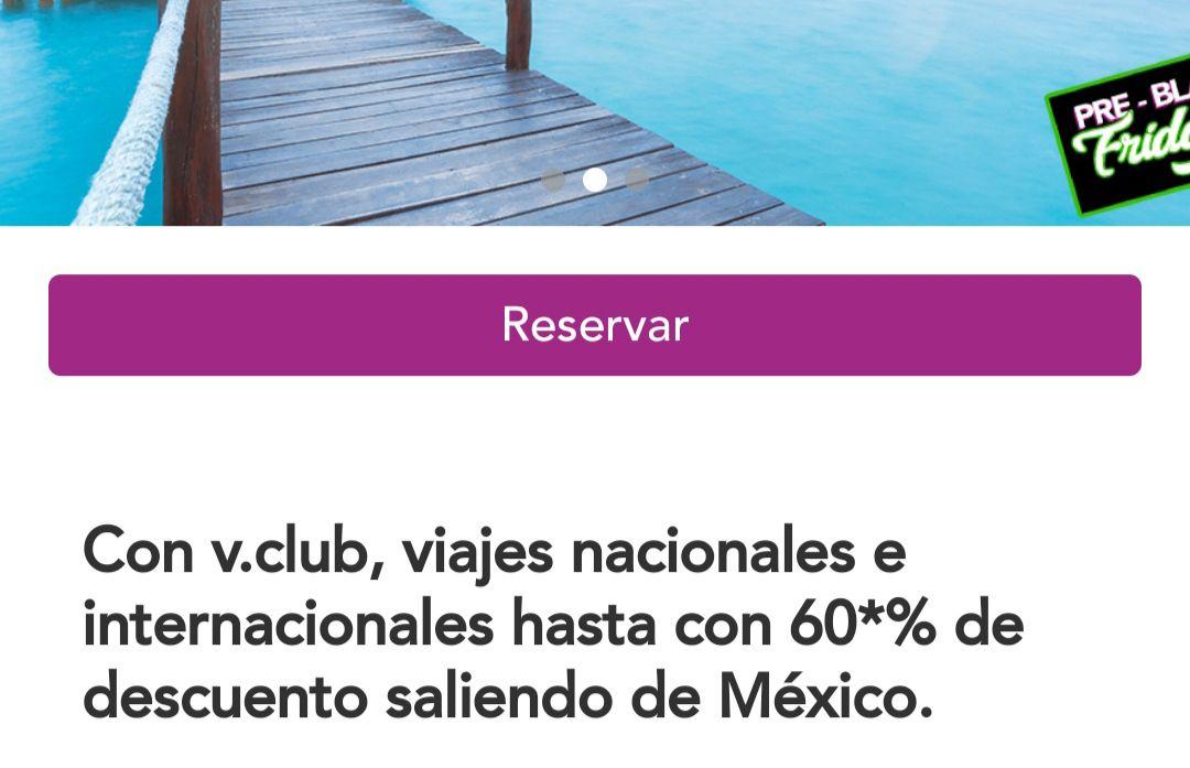 Volaris /vclub: Hasta 60% de descuento en vuelos nacionales