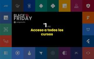Códigofacilito: Black Friday por $1 USD / 1 mes de Premium