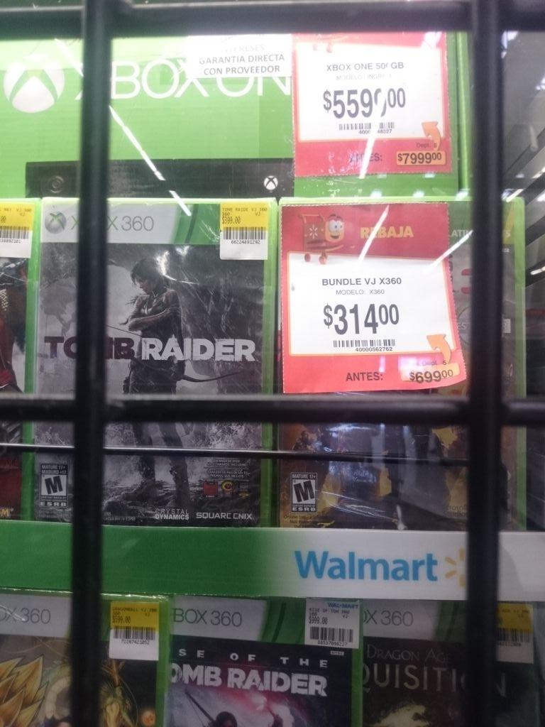 Walmart: Xbox One con Kinect a $5,599
