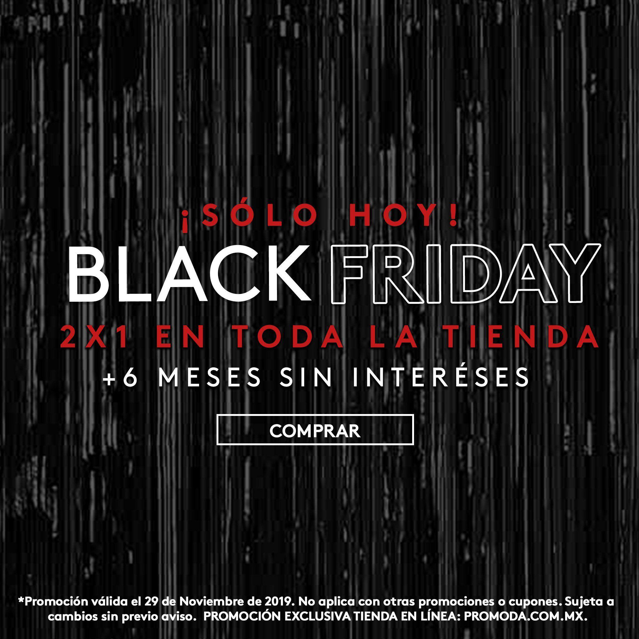 """Promoda: 2x1 en Toda la Tienda + 6 MSI """"Solo Hoy"""""""