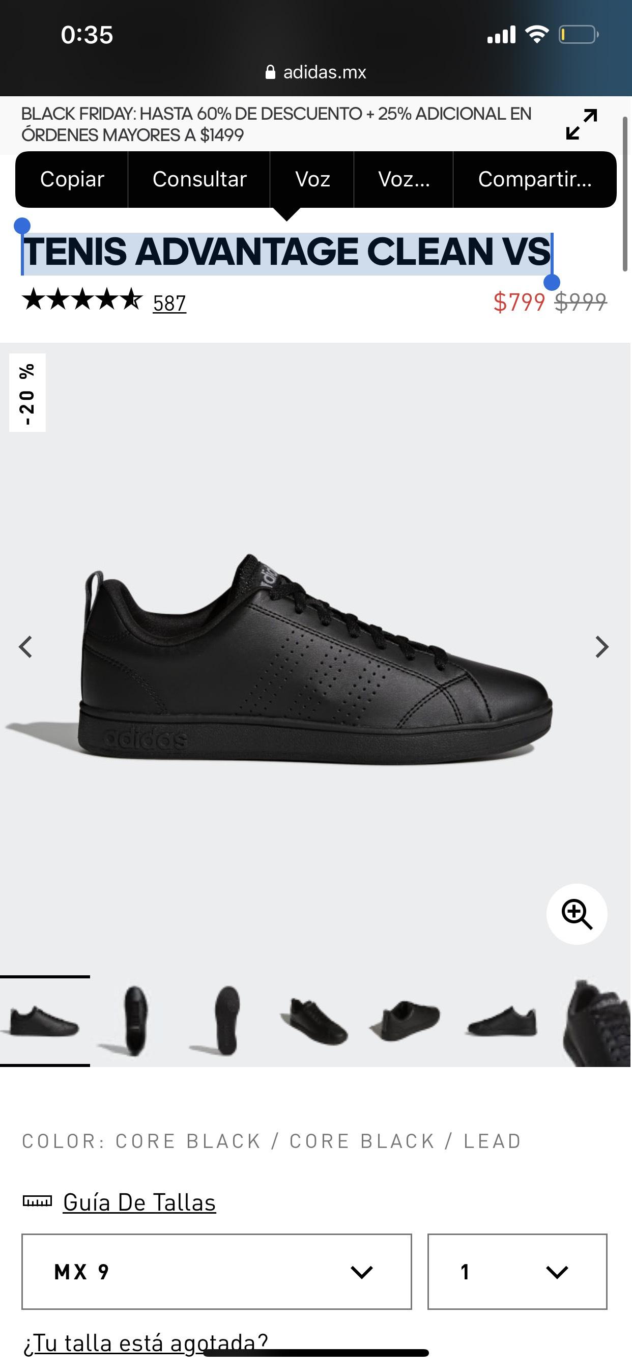 Adidas: TENIS ADVANTAGE CLEAN VS