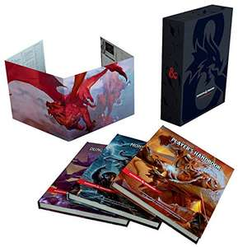 Amazon: Dungeons & Dragons Core Rulebooks Gift Set
