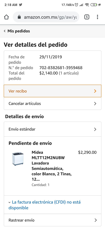 Amazon: LAVADORA MIDEA (Con Banorte recargable)