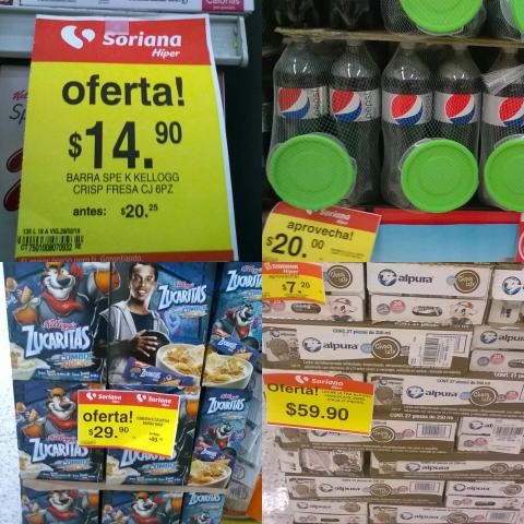 Soriana Hiper: Caja de leches alpura 27 piezas de $196.50 a $59.90 y más...