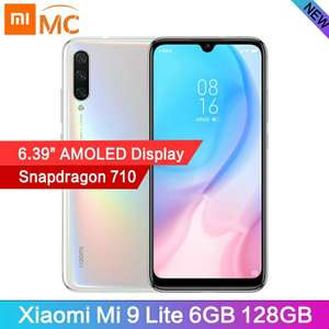 AliExpress: Xiaomi Mi9 Lite 6/128gb Blanco (DHL Incluido)