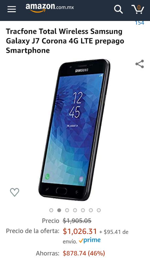 Amazon: Samsung J7 como Tablet aplica Prime