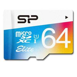 Amazon: Tarjeta MicroSDXC Silicon Power clase 10 de 64GB a $306