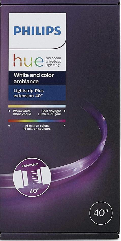 Amazon: Philips HUE LED LightStrip Plus (Extensión de 1 m)
