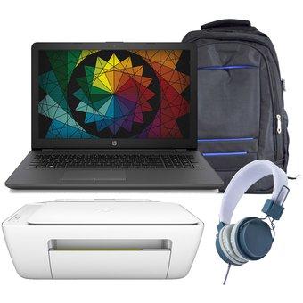 Linio Laptop HP de 1TB + MOCHILA + IMPRESORA CANON + AUDIFONOS