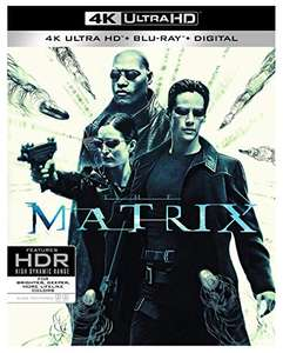 Amazon: The Matrix Blu-ray 4k + Blu-ray + Digital
