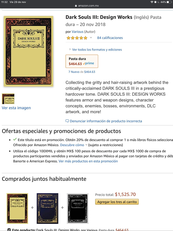 Amazon: Libro de Arte Dark Souls 3